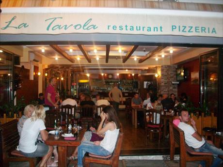 restaurant pizzeria la tavola find in montenegro